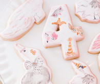 bird sugar cookies