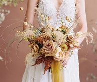 fall 2020 bridal bouquet