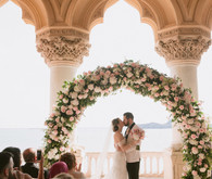 spring floral wedding in Italy