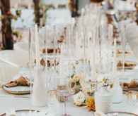 neutral tablescape ideas