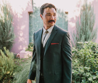 Palm Springs groom fashion