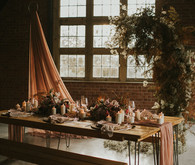 dried floral wedding decor