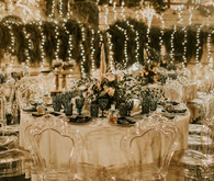 string light reception idea