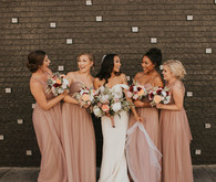 birdie grey bridesmaid dresses