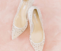 bella belle bridal pumps