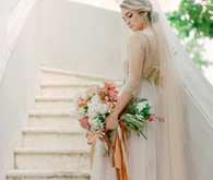 Handmade Costa Rica wedding dress