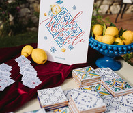 tile wedding favors