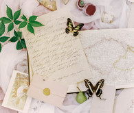 timeless wedding calligraphy