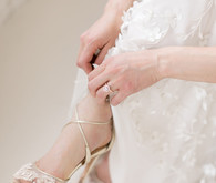 delicate wedding details