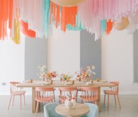 Kids birthday balloon decor
