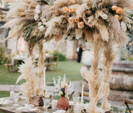 Bohemian destonation wedding