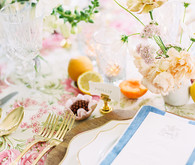 Bright place setting