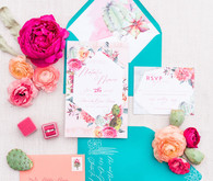 Southwestern wedding invites