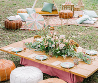 Magical fall fairytale birthday party in the forest