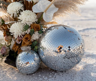 disco balls wedding