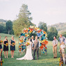 Ceremony paper flowers