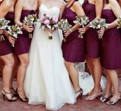 j crew Bow Monde Spiced Wine Bridesmaid dress (up to 6)