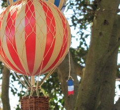 "Hot Air Balloon Decor ""Fly Away With Me"""