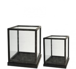 Jamali Gardens - Glass Display Box 17 1/2in and 19in