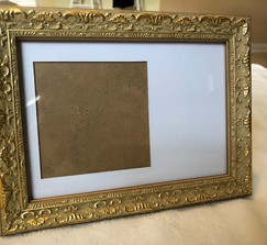 Gold Ornate Table Number Frames