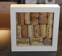 Cake Art Cork : Real Weddings and Wedding Inspiration Ideas Framed Cork ...