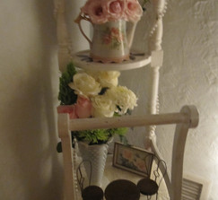 Vintage Wardrobe Caddy-Cute display!