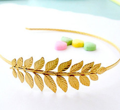 Grecian Goddess 22K GP Headband