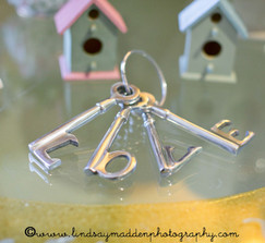 3 sets of Decorative Keys
