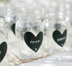 Mason Jars: Pint and Half Pint Sizes