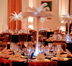 Real Weddings And Wedding Inspiration Ideas Ostrich Feather Old