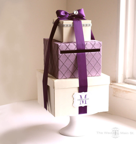 Wedding Money Gift Box Ideas : Real Weddings and Wedding Inspiration Ideas Wedding Card Box Money ...