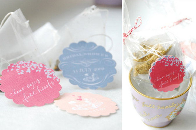Bridal Shower Favor DIY Projects 100 Layer Cake