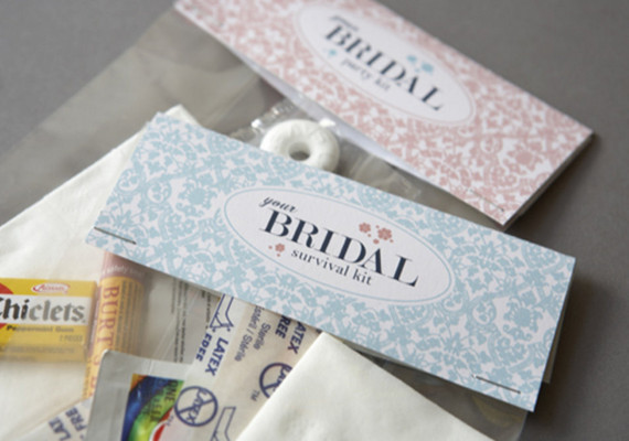 Bridal Party Survival Kit Diy Projects 100 Layer Cake