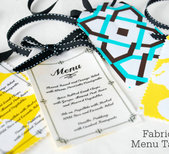 DIY Menu Tags