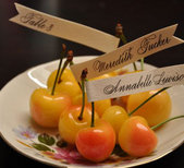 Fruit escort cards