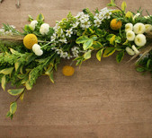 Floral garland by Local Social