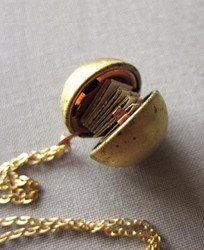 Hidden Message Locket Gift