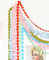 Festive Garland from Designlovefest