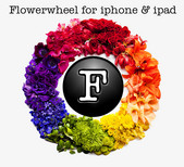 Flowerwheel App for iPhone and iPad