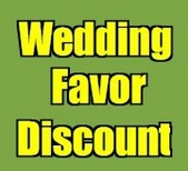 Wedding Favor Discount