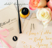 The Lettered Bride DIY Calligraphy Kit