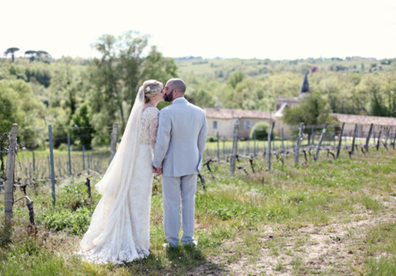 French château wedding