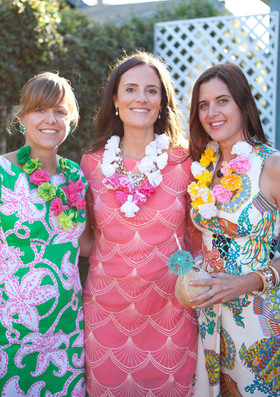 Tiki Bridal Shower