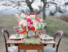 Colourful & rustic wedding inspiration
