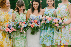 New Hampshire farm wedding