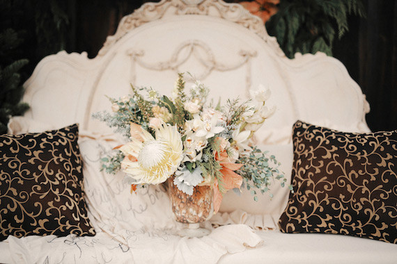 Rustic Christmas Wedding Inspiration Real Weddings And