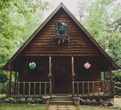 Kentucky wedding in the woods