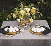 Black & gold wedding ideas