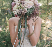 Bohemian Southern California wedding