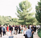 Provence olive grove wedding